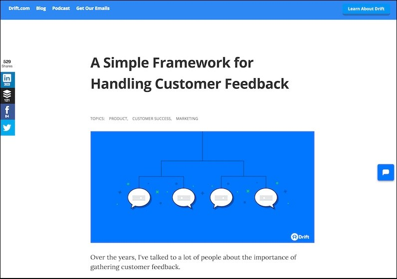 a-simple-framework-for-handling-customer-feedback