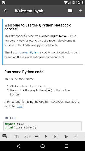 QPyNotebook - Python practice step by step (BETA) by