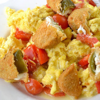Tasty Jalapeño Breakfast Scramble