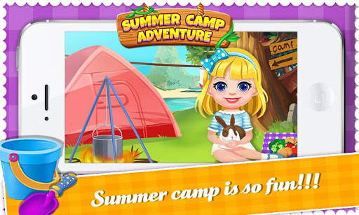 Summer Camp: Outdoor Mini Game