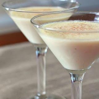 Eggnog Martini.