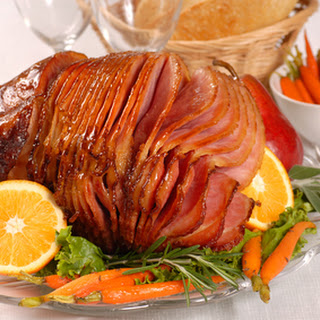 Orange Glazed Ham