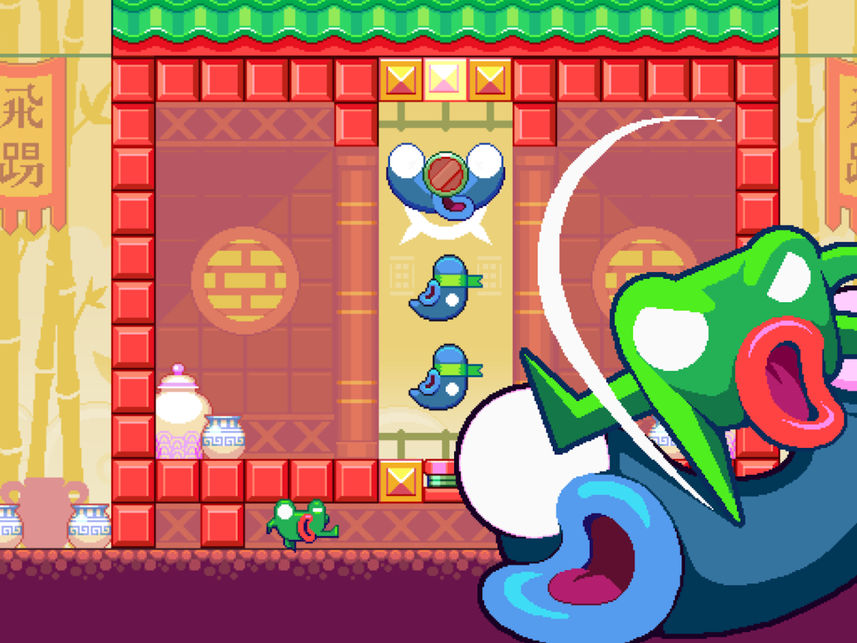 Green Ninja: Year of the Frog- screenshot