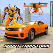 Drone Robot Car Transform Robot Transforming games