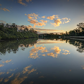 Nambucca River and walk by Daryl James - Landscapes Waterscapes