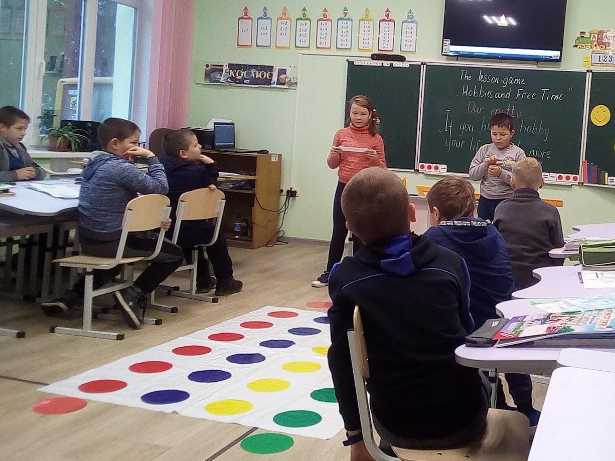 Відкритий урок англійської мови в 4 класі
