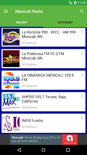 Radio Fm Mexicali  screenshots 3