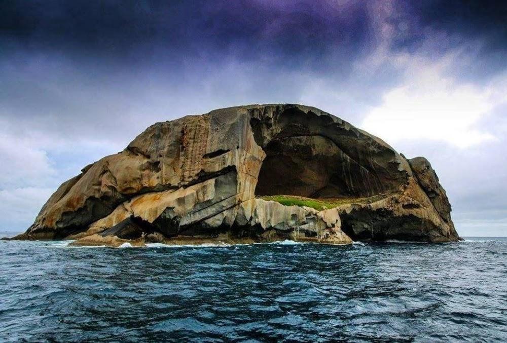 Skull Rock, a ilha da caveira da Austrália