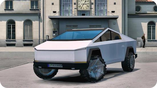 CyberTruck Electric Car Driving Simulator 2020 for PC-Windows 7,8,10 and Mac apk screenshot 4