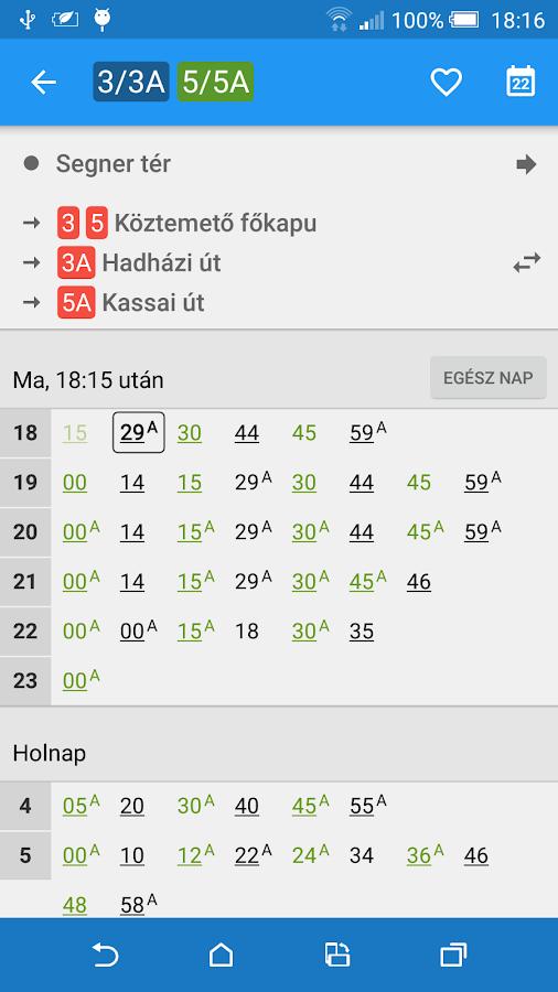 Debreceni Menetrend- screenshot