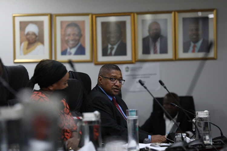 Electoral Commission chairperson Glen Mashinini admitted the IEC could not guarantee that personal information contained in the voters' roll would not be abused. File photo.