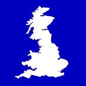 Map GB