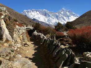 Photo: Pangboche : Lhotse