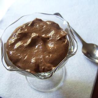 Chocolate Peanut Butter Chia Pudding.