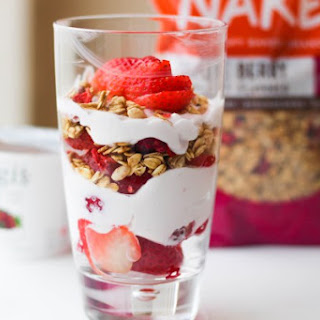 High Protein Super Simple Breakfast Parfait   Vegetarian Recipe