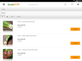 Screenshot of SeedsNow