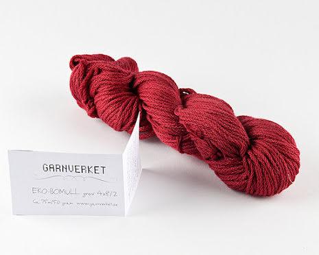 Ekobomull kabeltvinnad, Varm röd