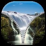 Waterfall Zipper Screen Icon