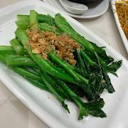 66. Stir Fried Chinese Broccoli with Onion Oil 香蔥油渣炒芥蘭