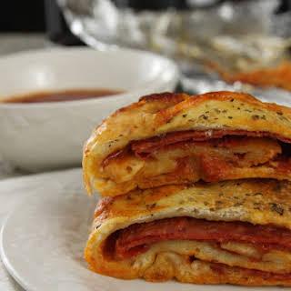 Pepperoni Stromboli.