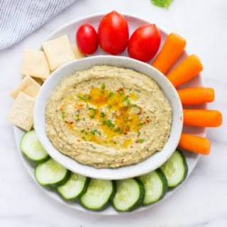 Roasted Eggplant and White Bean Dip.