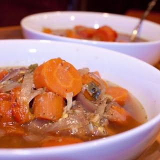 Roasted Pepper-Chicken-Pale Ale Stew