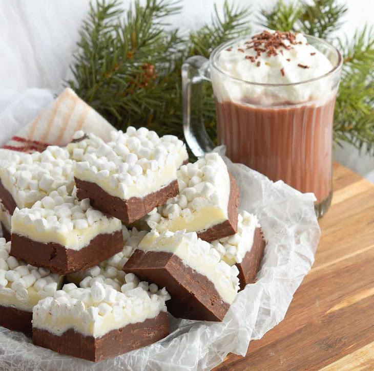 Microwave Hot Chocolate Fudge
