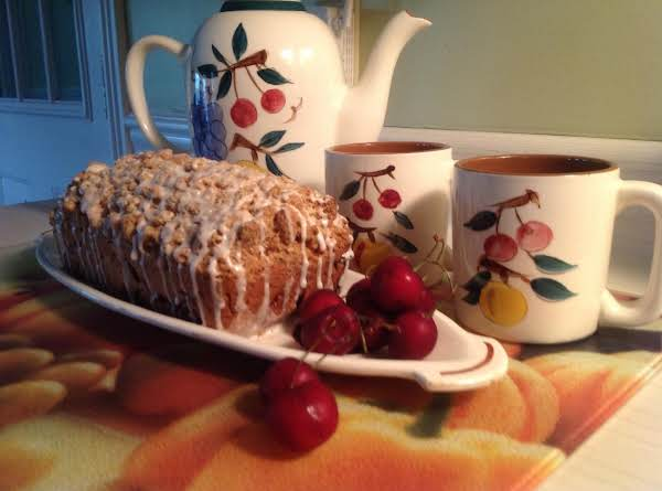 Cherry-berry Streusel Loaf