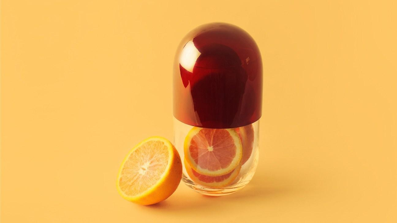 A picture containing food, bottle, glass  Description automatically generated