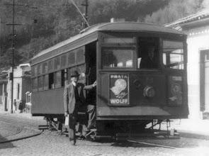 Photo: Este foi o último bonde a circular na cidade. Foto de 25 de julho de 1939