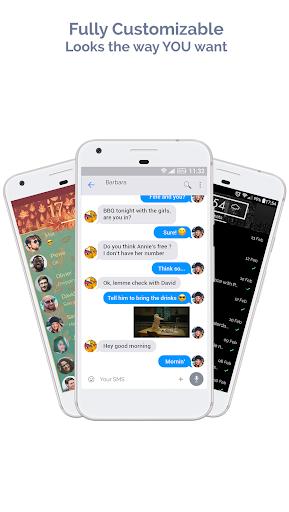 Mood Messenger - SMS & MMS screenshot 2