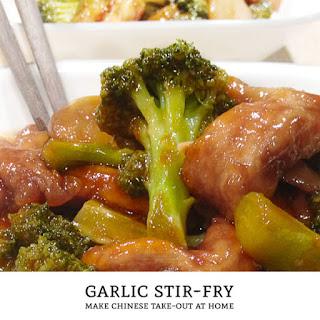 Take-Out Style Chinese Garlic Stir-Fry Sauce Recipe