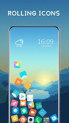 Rolling icons - App and photo icons 2.0.3 screenshots 1