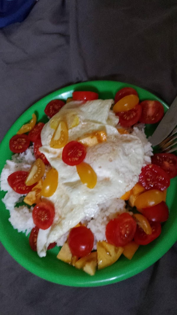 Anytime Eggs And Rice Recipe