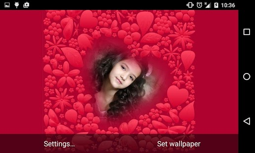 Romantic Live Wallpaper HD Free Screenshot