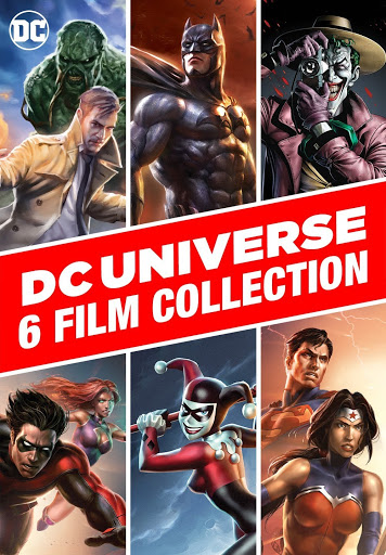 Dc Universe 6 Film Collection Movies On Google Play