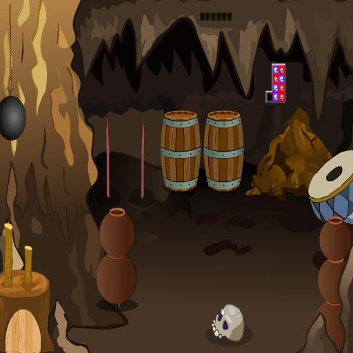 Cave Red Diamond Escape