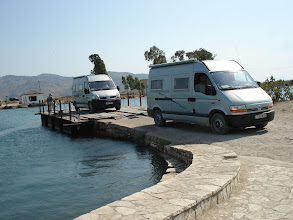 Photo: Nous arrivons devant le site antique Butrint