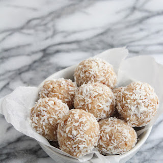 Coconut Date Paleo Snowball Cookies - guest post from Sarah of A Saucy Kitchen