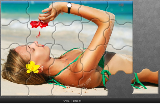 bikini puzzles jigsaw - puzzle sexy suit girls screenshot 1