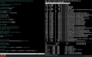 Screenshot of Terminal IDE