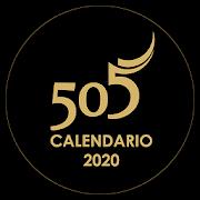 Calendário 505 Santiago de Cuba
