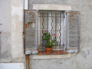Photo: Gourdon window. (Given my known interest - OK, OK, obsession - with French windows, a number of these will be appearing in this album.)