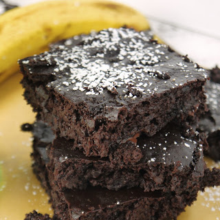Fudgy Chocolate Banana Brownies.