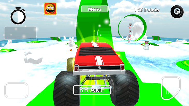 Snow Car Race & Stunts Extreme- screenshot thumbnail