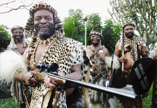 King Goodwill Zwelithini is considered South Africa's most pampered monarch