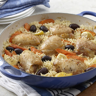 Lemon Chicken and Orzo One Pot Meal
