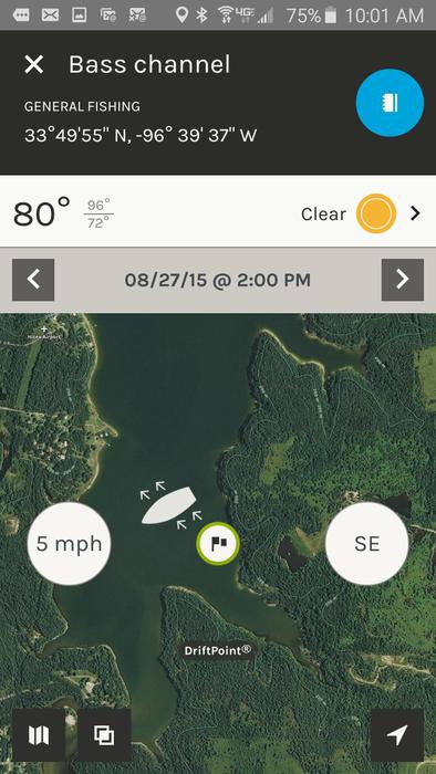 ScoutLook Fishing- screenshot