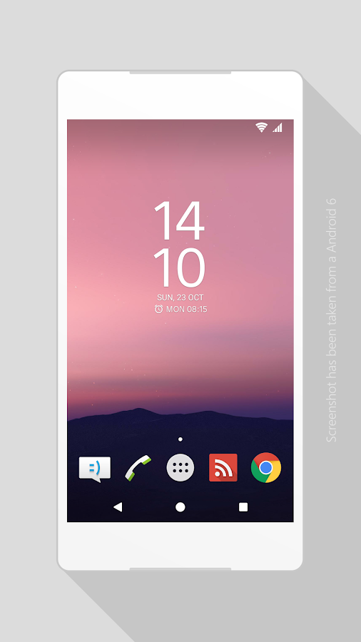 Theme — Nougat (Pixel)- screenshot