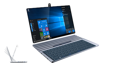 Photo: The Ultimate Convertible PC (design concept by andrewz)  Included technologies: Windows 10 Continuum https://youtu.be/F_O-LrGL-YQ OLED + Intel North Cape's Smart Frame https://youtu.be/LGR5hN1TlcM Charging and magnets like Google Pixel C https://youtu.be/qzoBoa21WY0 Wireless Dock with Mechanical Touch Keyboard https://youtu.be/hjXvXRzpwN8 Camera like Huawei Honor i7 https://superzeppo.files.wordpress.com/2015/08/huawei-i7.png  Read a translated article (originally written in Czech): https://goo.gl/m3f93v
